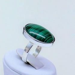 malachit,pierścionek z malachitem,pierścionki, - Pierścionki - Biżuteria