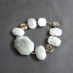 geometryczna bransoletka,duże formy,minimalizm - Bransoletki - Biżuteria
