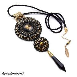 elegancki,stylowy,efektowny,błyszczący - Wisiory - Biżuteria