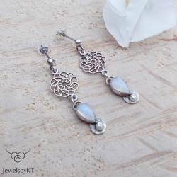 srebro,lekkie,długie,JewelsbyKT - Kolczyki - Biżuteria