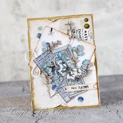 życzenia,urodziny,imieniny,kwiaty,rustykalna, - Kartki okolicznościowe - Akcesoria