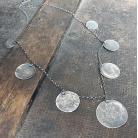 Naszyjniki srebro oksydowane,naszyjnik srebrny