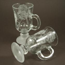 maki,grawerowane,piaskowane - Ceramika i szkło - Wyposażenie wnętrz