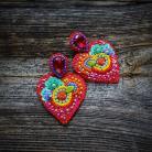 Kolczyki kolczyki serca,Frida,
