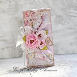 ślub,kartka,życzenia,kwiaty,ślubna,obrączki - Kartki okolicznościowe - Akcesoria