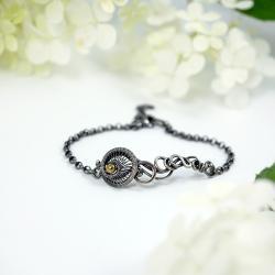 Srebrna bransoletka na prezent - Bransoletki - Biżuteria