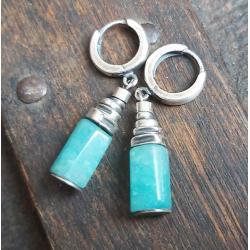 kolczyki srebrne,kolczyki wiszące - Kolczyki - Biżuteria