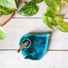 Ceramika i szkło turkus,turkusowe dodatki,ceramika,Palo Santo