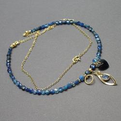 delikatny,kamienie,minerały - Naszyjniki - Biżuteria