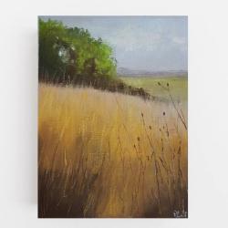 pejzaż,pastele,łąka - Obrazy - Wyposażenie wnętrz