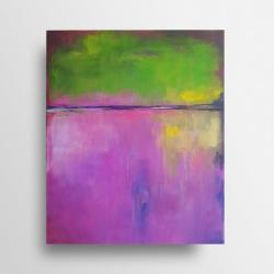 obraz,akryl,abstrakcja - Obrazy - Wyposażenie wnętrz