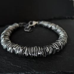 srebro,surowy - Dla mężczyzn - Biżuteria