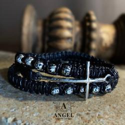 komplet biżuterii męskiej,obrączka,bransoleta - Dla mężczyzn - Biżuteria