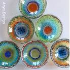 Ceramika i szkło szkło,fusing,miseczki