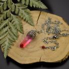 Wisiory wisiorek,talizman,amulet,kryształ górski,surowy