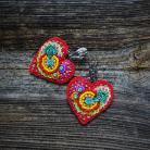 Kolczyki kolczyki,Frida,serce,Frida Kahlo