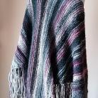 Szale, apaszki chusta na drutach,rękodzieło,autorska chusta