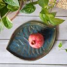 Ceramika i szkło badura,patera,liść ceramiczny,talerz ceramiczny