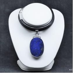 Wisior z lapis lazuli,srebro,biżuera,wisiory - Wisiory - Biżuteria