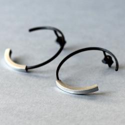 minimalistyczne kolczyki geometryczne - Kolczyki - Biżuteria