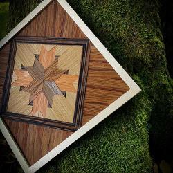 nature,boho,geometryczne,natura,drewno,obraz, - Obrazy - Wyposażenie wnętrz