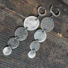 Kolczyki kolczyki wiszące,kolczyki srebrne,