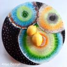 Ceramika i szkło szkło,fusing,patera