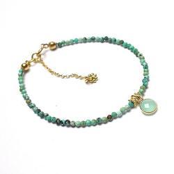 delikatna,elegancka,kamienie,minerały - Bransoletki - Biżuteria