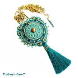 efektowny,nietypowy,elegancki,bogaty,stylowy - Wisiory - Biżuteria