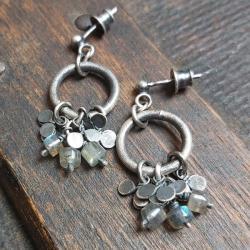 kolczyki na sztyftach,kolczyki wiszące - Kolczyki - Biżuteria
