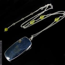 roduzyt wisior,jadeit,oryginalny,regulowany - Naszyjniki - Biżuteria