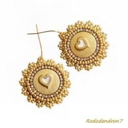 eleganckie,stylowe,efektowne,błyszczące,ślubne - Kolczyki - Biżuteria